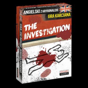 The Investigation. Angielski z kryminałem. Gra karciana