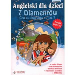 EDGARD Angielski dla Dzieci Siedem diamentów 3.0