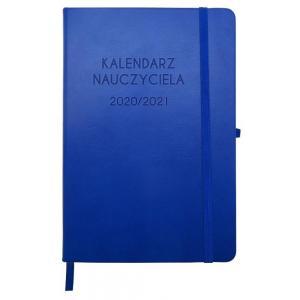 Kalendarz nauczyciela. 2020/2021. A5 niebieski