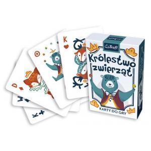 Karty do gry. Królestwo Zwierząt