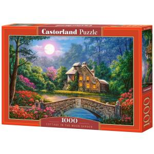 Puzzle 1000. Cottage in the Moon Garden