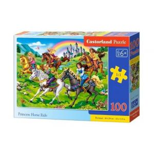 Puzzle Princess Horse Ride 100