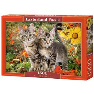 Puzzle 1500. Kitten Buddies