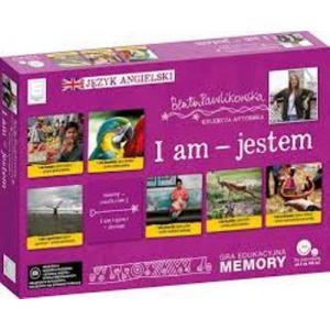 Edukacyjne memory językowe I am jestem Autorska kolekcja Beaty Pawlikowskiej