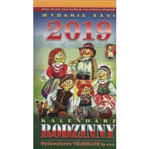 Kalendarz 2020 Rodzinny zdzierak (Z1)