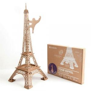 Zabawka z Tektury Tour Eiffel. Leolandia
