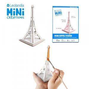Zabawka z tektury Mini Wieża Eiffel. Leolandia
