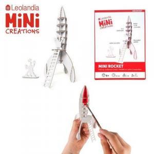 Zabawka z tektury Mini Rocket. Leolandia