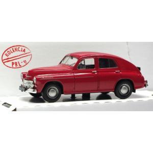 Kolekcja PRL Warszawa M-20 /model w skali 1:43/