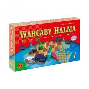 Warcaby Halma. 18 gier planszowych