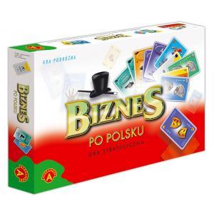 Biznes po polsku. Gra strategiczna. Od 8 lat. Karton