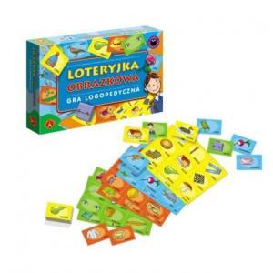 Loteryjka Obrazkowa-Gra Logopedyczna