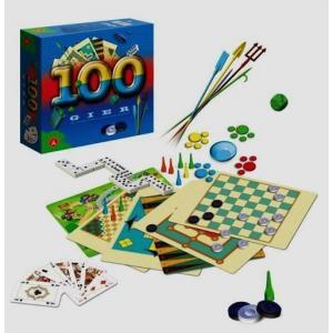 100 gier. Różnorodne gry dla każdego. Pudełko