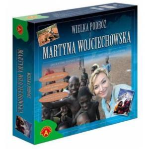 Wielka podróż z Martyną Wojciechowską. Gra. Pudełko