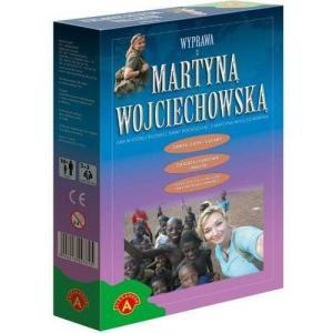 Wyprawa z martyną Wojciechowską. Gra edukacyjna. Od 8 lat.Karton