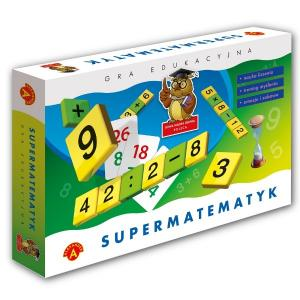 Supermatematyk. Gra edukacyjna. Pudełko