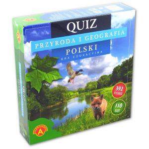 Quiz. Przyroda i geografia Polski. Gra eduk. Od 10 lat. Karton