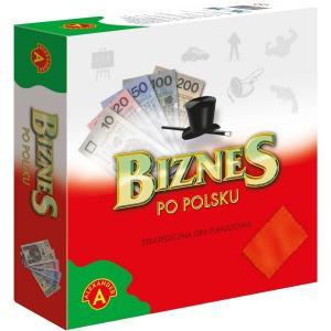 Biznes po polsku. Strategiczna gra planszowa. Pudełko