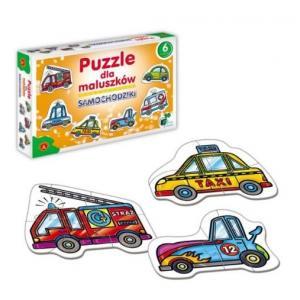 Puzzle dla Maluszków - Samochodziki