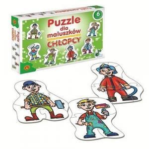 Puzzle dla maluszków. Chłopcy