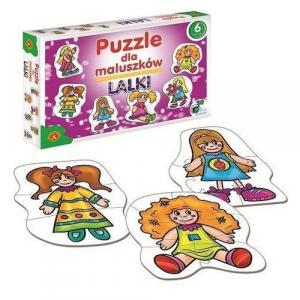 Puzzle dla maluszków. Lalki