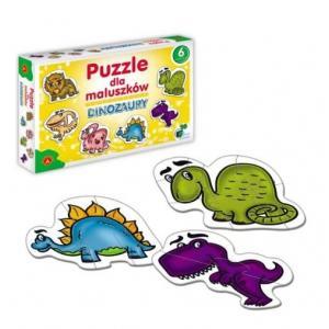 Puzzle dla Maluszków - Dinozaury