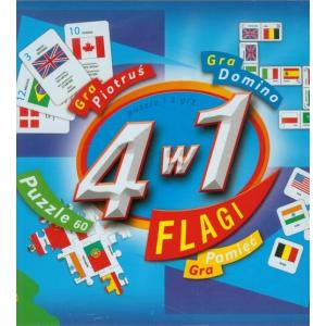 4 w 1. Flagi