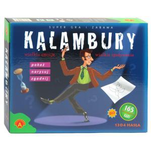 Kalambury. Gra planszowa
