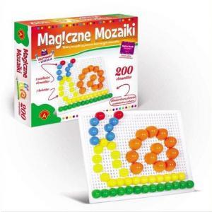 Magiczne mozaiki. Kreatywność i edukacja. 200 elementów