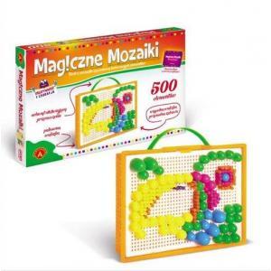 Magiczne mozaiki. Kreatywność i edukacja. 500 elementów