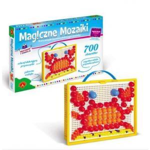 Magiczne mozaiki. Kreatywność i edukacja. 700 elementów