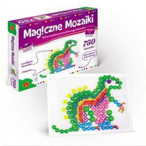 Magiczne mozaiki. Kreatywność i edukacja. 750 elementów