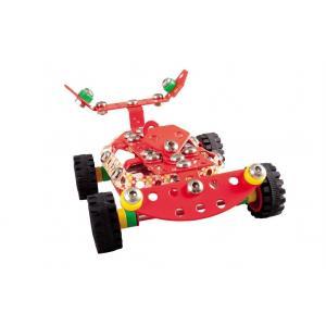 Mały Konstruktor Kolorowy - Wyścigówka