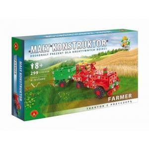 Mały konstruktor. Maszyny rolnicze. Farmer. 299 elementów