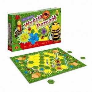 Wyścig Pszczół. Gra Edukacyjna