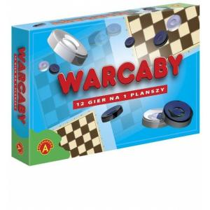 Warcaby. 12 Gier na 1 Planszy