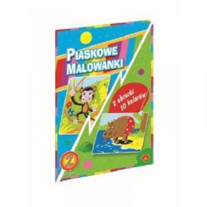 Piaskowa Malowanka Hipopotam. Małpa