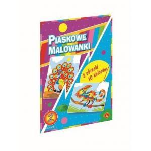 Piaskowa Malowanka Kameleon, Paw