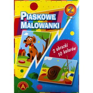 Piaskowa Malowanka Pies, Ślimak