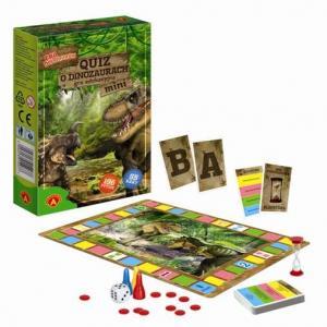 Quiz o Dinozaurach - Era Dinozaurów. Wersja Mini. Gra Edukacyjna
