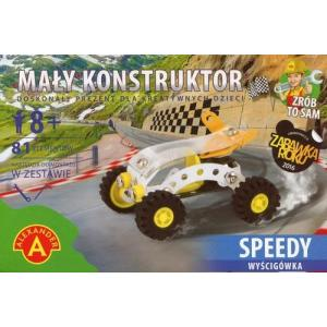 Mały Konstruktor Speedy Wyścigówka 81 Elementów