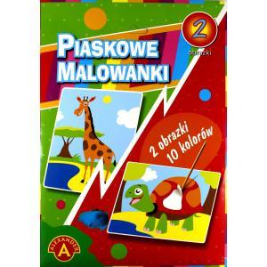 Piaskowa Malowanka Żyrafa, Zółw
