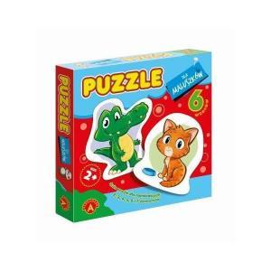Puzzle dla maluszków Krokodyl
