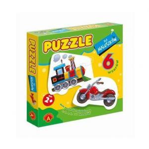 Puzzle Dla Maluszków - Lokomotywa