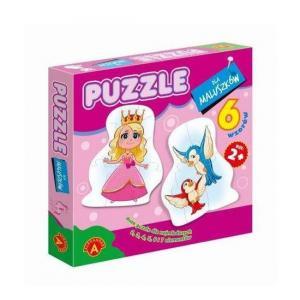 Puzzle Dla Maluszków - Królewna