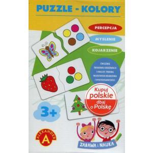 Zabawa i nauka. Puzzle - Kolory