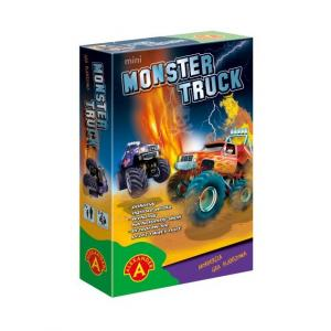 Monster Truck Fight Mini. Gra Planszowa