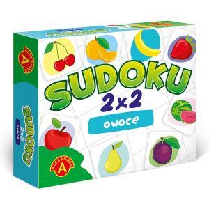 Sudoku 2x2 Owoce. Gra Edukacyjna