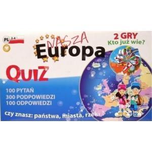 Quiz. Nasza Europa. 2 gry