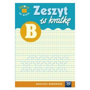 """Zeszyt w kratkę """"Szkoła na miarę"""" B"""
